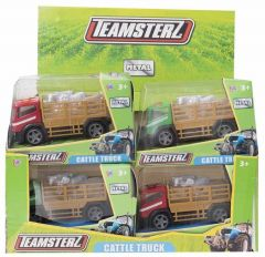 Teamsterz Cattle Truck Boxed Assorted Colours CDU