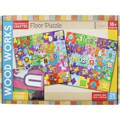 Wood Works Wooden Floor Puzzle
