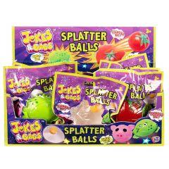 Jokes & Gags Splat Ball 4 Assorted Designs CDU