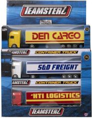 Teamsterz Container Truck Boxed Assorted Designs CDU