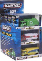 Teamsterz City Trucks Boxed Assorted Designs CDU