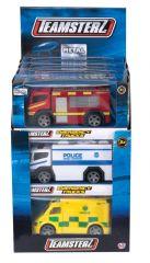 Teamsterz Emergency Trucks Boxed Assorted Designs CDU