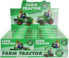 Tractor Brick Set 2 Assorted Designs CDU