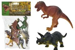 6 Piece Assorted Dinosaurs Hang Pack