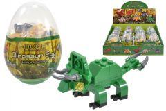 Dinosaur Brick Figures in Egg 6 Assorted Designs CDU