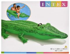 Inflatable Lil' Gator Ride On 167cm x 86cm