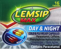 Lemsip Max Day & Night Capsules 16's