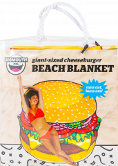 Big Mouth Giant Beach Blanket Burger 5ft