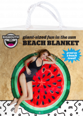 Big Mouth Giant Beach Blanket Watermelon 5ft