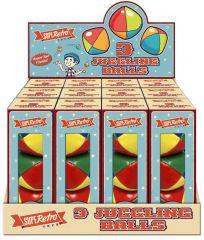 Retro 3 Pack Juggling Balls in CDU