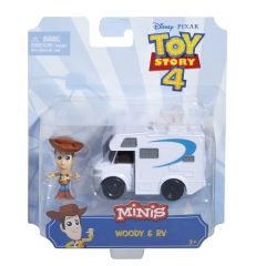 Toy Story 4 - Mini Figures and Vehicle Assortment