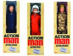 Action Man Figure Styles May Vary