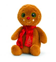 Keel 20cm Gingerbread Man with Scarf