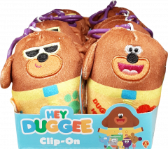 Hey Duggee - Duggee Clip-on Soft Toys Assorted in CDU