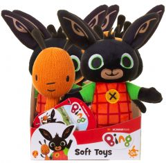 Bing Bunny - Bing and Flop Soft Toys Assorted in CDU