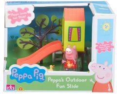 Peppa Pig - Outdoor Fun /Swing and Slide Playset Assortment