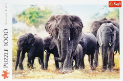 wholesale Elephants 1000pc jigsaw puzzle