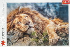 1000 Piece Puzzle - Sleeping Lion