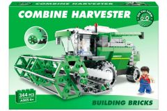 Combine Harvester Building Bricks in Colour Box - 344pcs