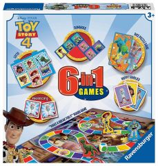 Toy Story 4 6 in 1 Games