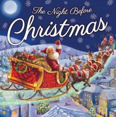 Night Before Christmas Book 25x25cm