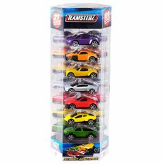 Teamsterz 3 Inch Zip Cars - 21 Car Pack