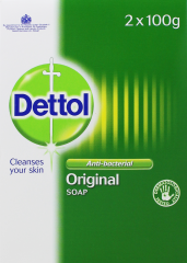 Dettol Anti-Bacterial Soap Twin Pack 2 x 100g