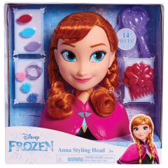 Frozen Anna Styling Head