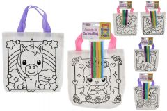 Colour your Own Canvas Bag - Assorted Designs