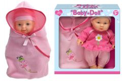 """9"""" Vinyl Baby Doll With Carry Bag"""