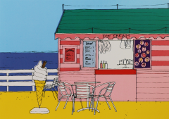 Postcard-Life's A Beach Ice Cream Hut