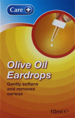 Care Olive Oil Ear Drops 10ml