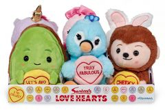 Love Hearts - 7 Inch Plush Assorted