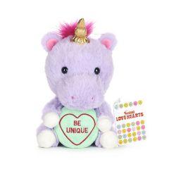 Love Hearts - Unicorn 'Be Unique' 7 Inch Plush