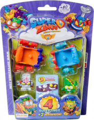 Wholesale SuperZings Series 5 - 4 Figurine Aerowagon Blister Pack