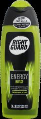 Right Guard Shower Gel For Men Energy Burst 250ml