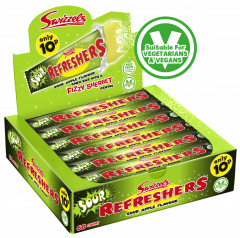 Swizzels 10p Refreshers Sour Apple Flavour Chew Bar 18g