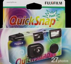 Fujifilm Quicksnap Flash Single Use Camera 27exp