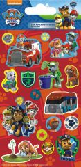 Licensed Character Stickers Small Foil Packs - Paw Patrol