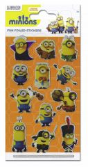 Licensed Character Stickers Small Foil Packs - Despicable Me Minions
