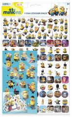 Licensed Character Stickers Megapacks - Despicable Me Minions