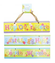 Easter Signs 3's Hang Pack