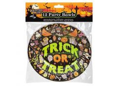 "Halloween Design 7"" Paper Bowls Pack Of 12"