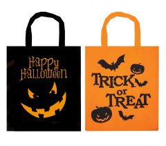 Halloween Treat Bag 28cm x 34xm 2 Assorted Colours