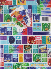 Packed Wrap 2 Sheets & 2 Tags - PJ Masks