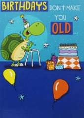 Birthday Card Open Humour