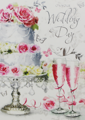 Wholesale On Your Wedding Day Card