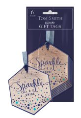 Tom Smith 6 Seasonal Celebrations Gift Tags Hang Pack