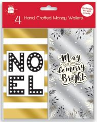 4 Contemporary Money Wallets Hang Pack