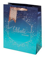 Tom Smith Gift Bag Medium Seasonal Celebration